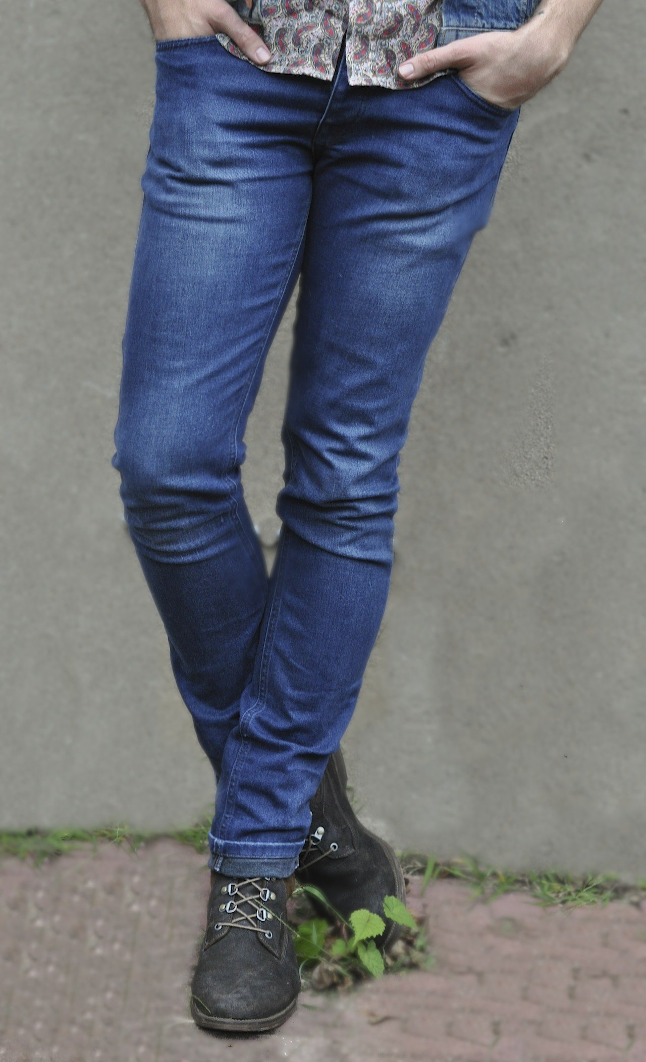 Topman denim with J Shoes Boots