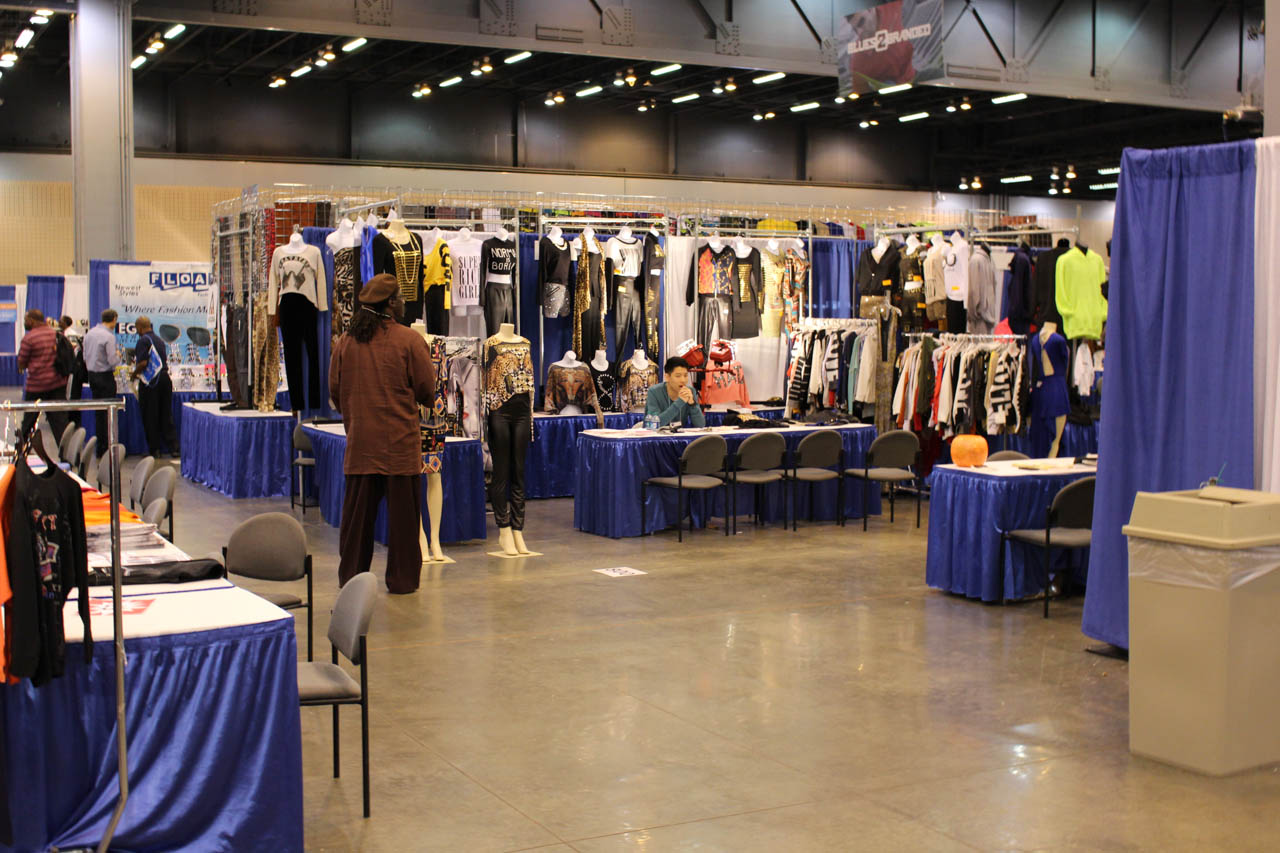 The Kentucky Gent at the Cobb Apparel Trade Show in Atlanta, Georgia