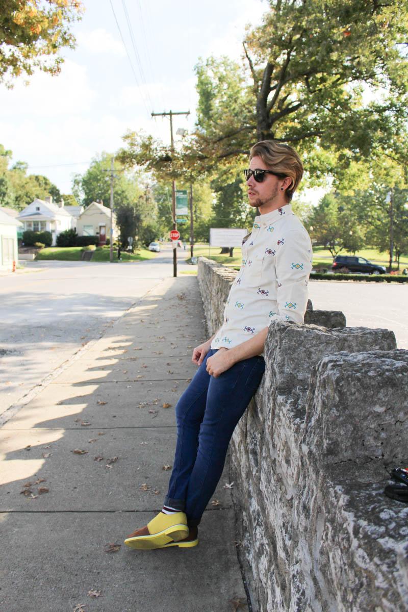 jd-fisk-valdez-topman-camo-jeans-topman-aztec-print-button-down-shirt