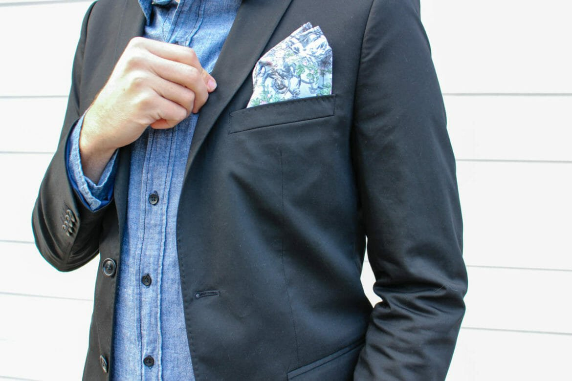 The Kentucky Gent in a Zara Blazer, 21Men Denim Shirt, Kill City