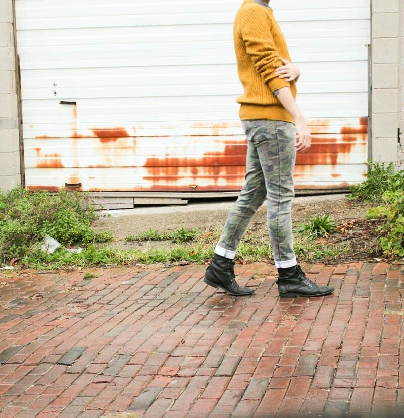 topman-boots-tripp-nyc-camo-pants-hm-mustard-sweater