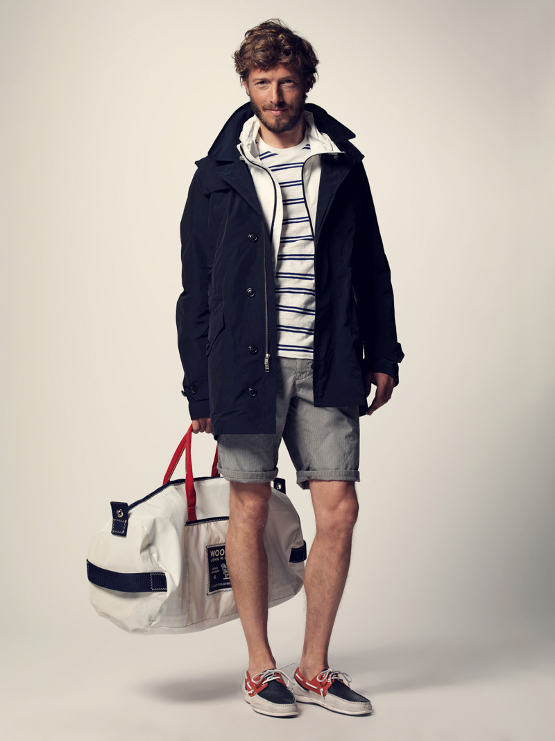 The Kentucky Gent With Woolrich John Rich & Bros. SS14 Collection