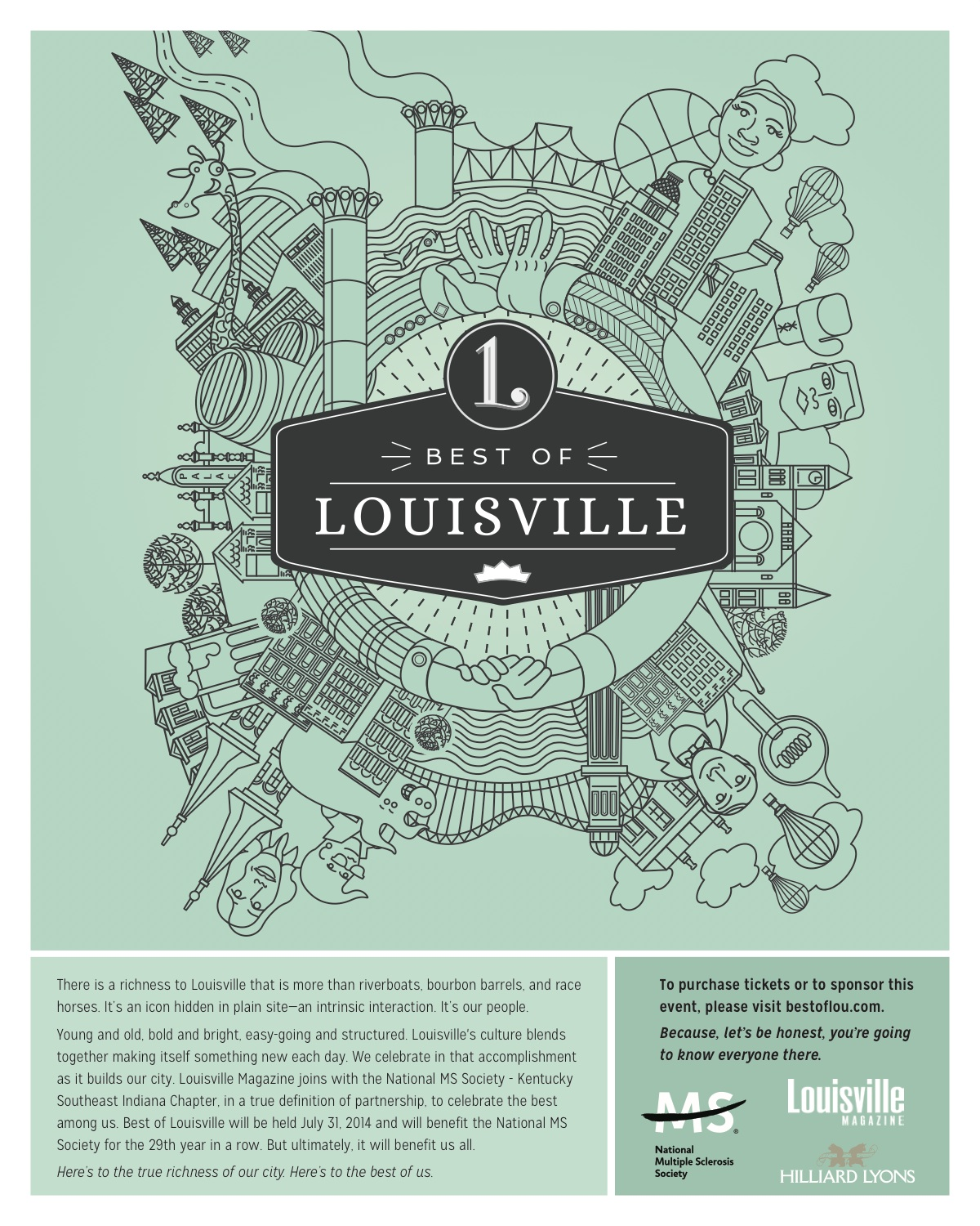 Best of Louisville event at Play Louisville, July 31st