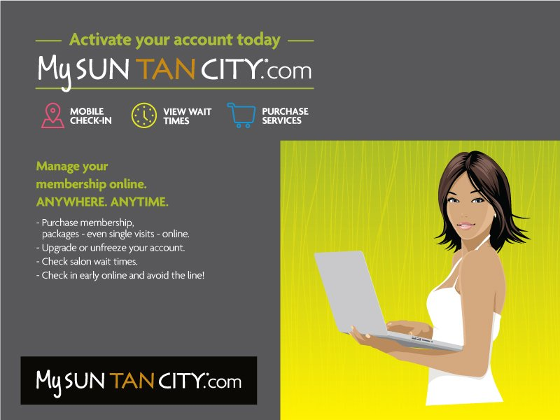 The Kentucky Gent with Sun Tan City to introduce MySunTanCity.com.