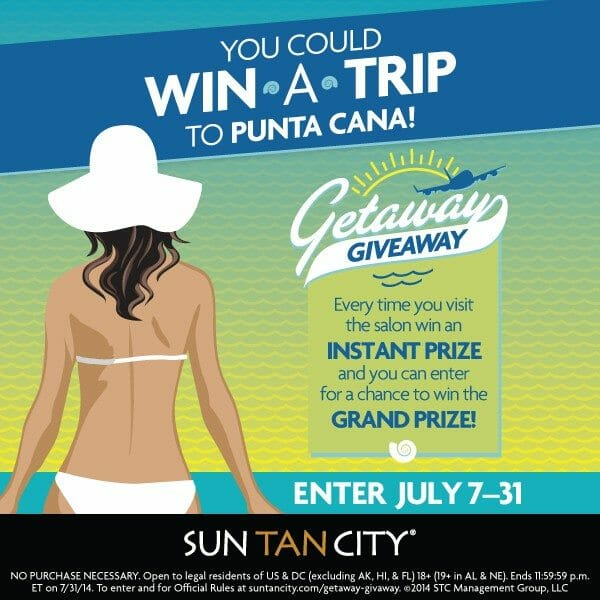 Getaway Giveaway with The Kentucky Gent and Sun Tan City.