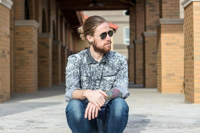 The Kentucky Gent, a Louisville, Kentucky based men's life and style blogger, wearing Levi's Made & Crafted Denim.