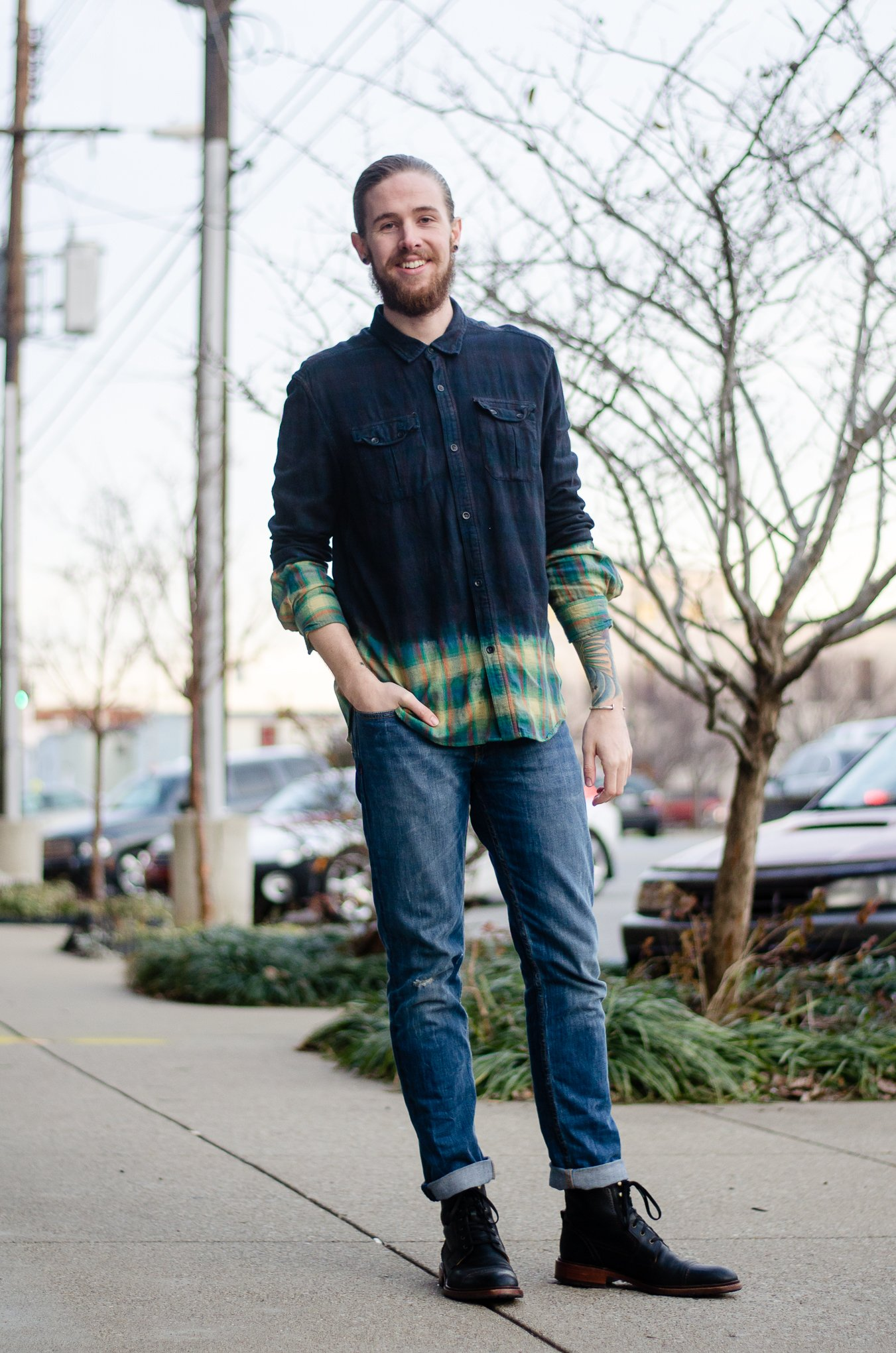 The Kentucky Gent, a Louisville, Kentucky men's fashion and lifestyle blogger, turned twenty five this weekend in Devil's Harvest and Levi's.
