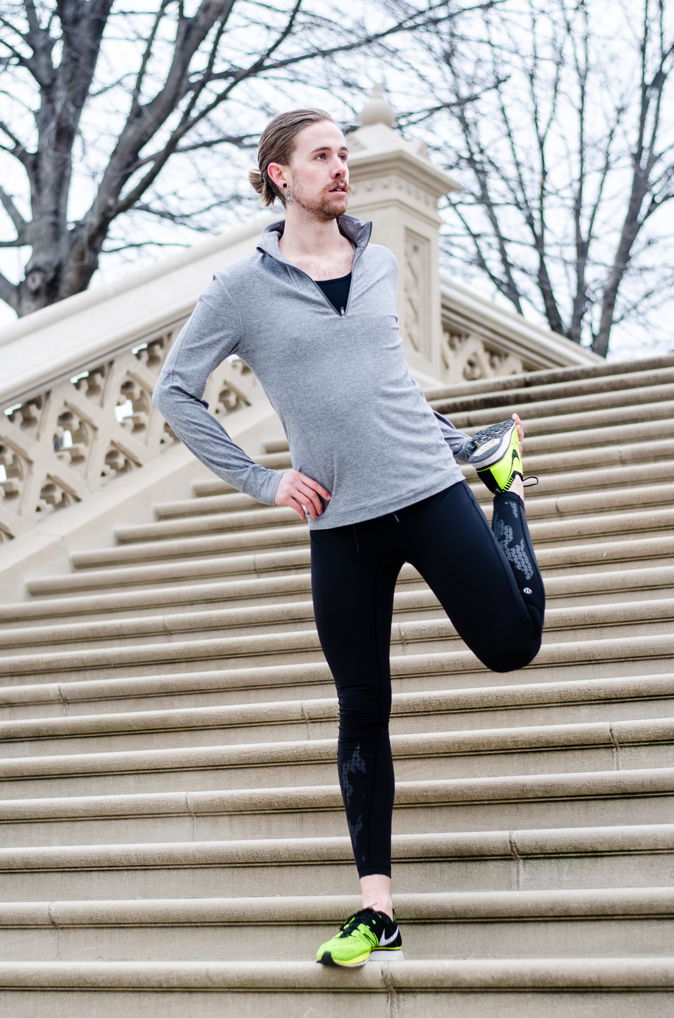 The Kentucky Gent, men's fashion and lifestyle blogger, incorporates Drip Drop into his marathon training.