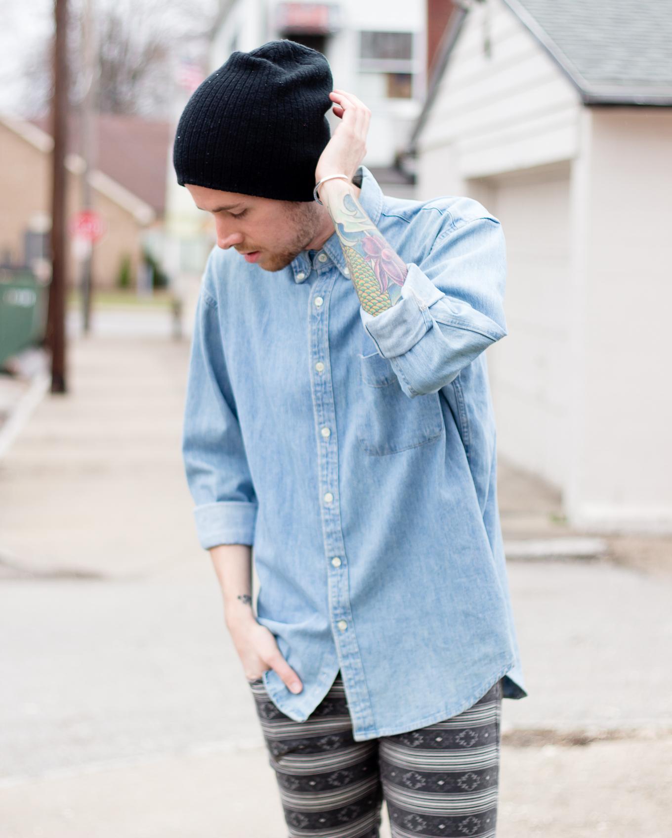J. Crew Denim Shirt and Kill City Jeans - The Kentucky Gent