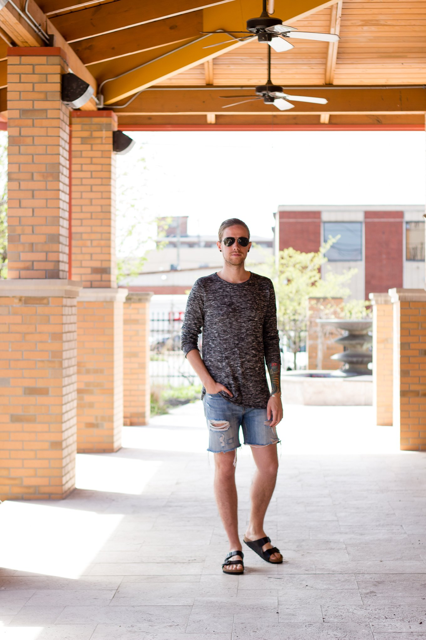 Spring Layers with H&M and Levi's on The Kentucky Gent