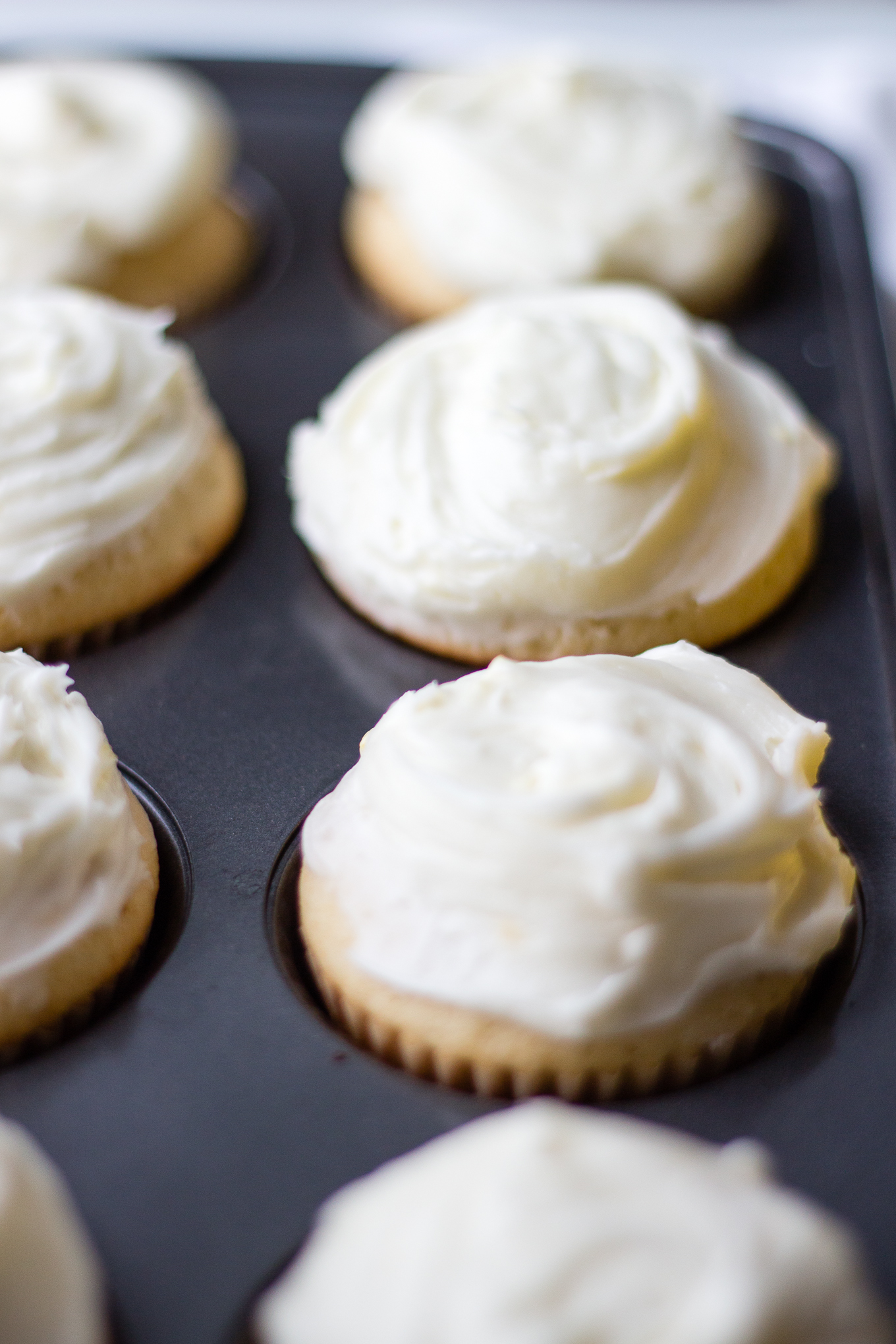 Shock Top Belgian White Cupcakes for National Beer Day