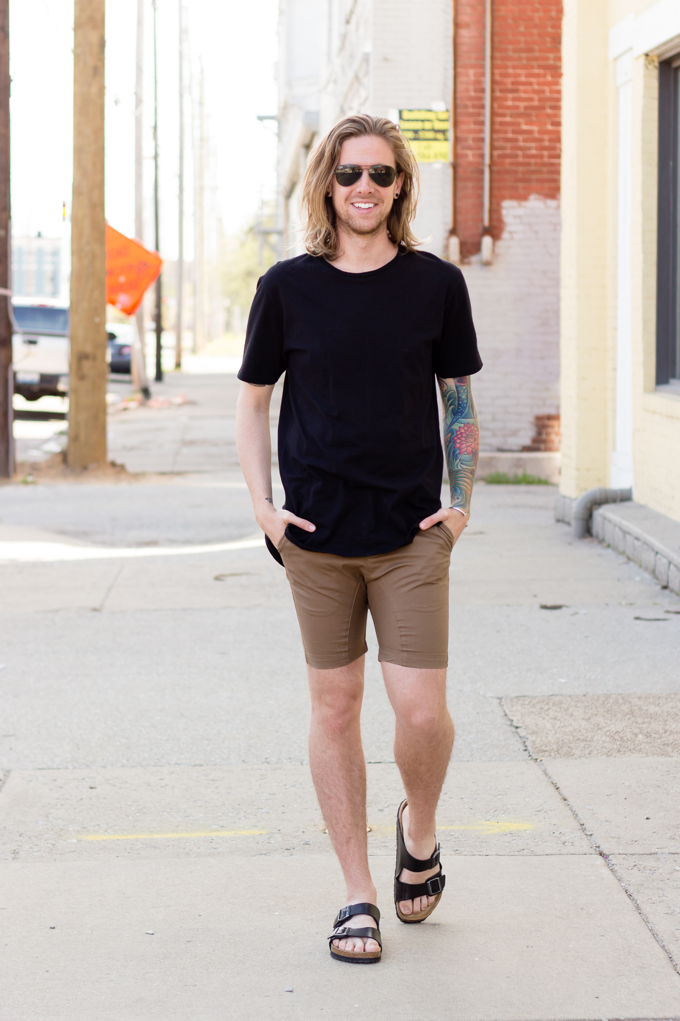 Zanerobe Flintlock T-Shirt and Shorts on The Kentucky Gent