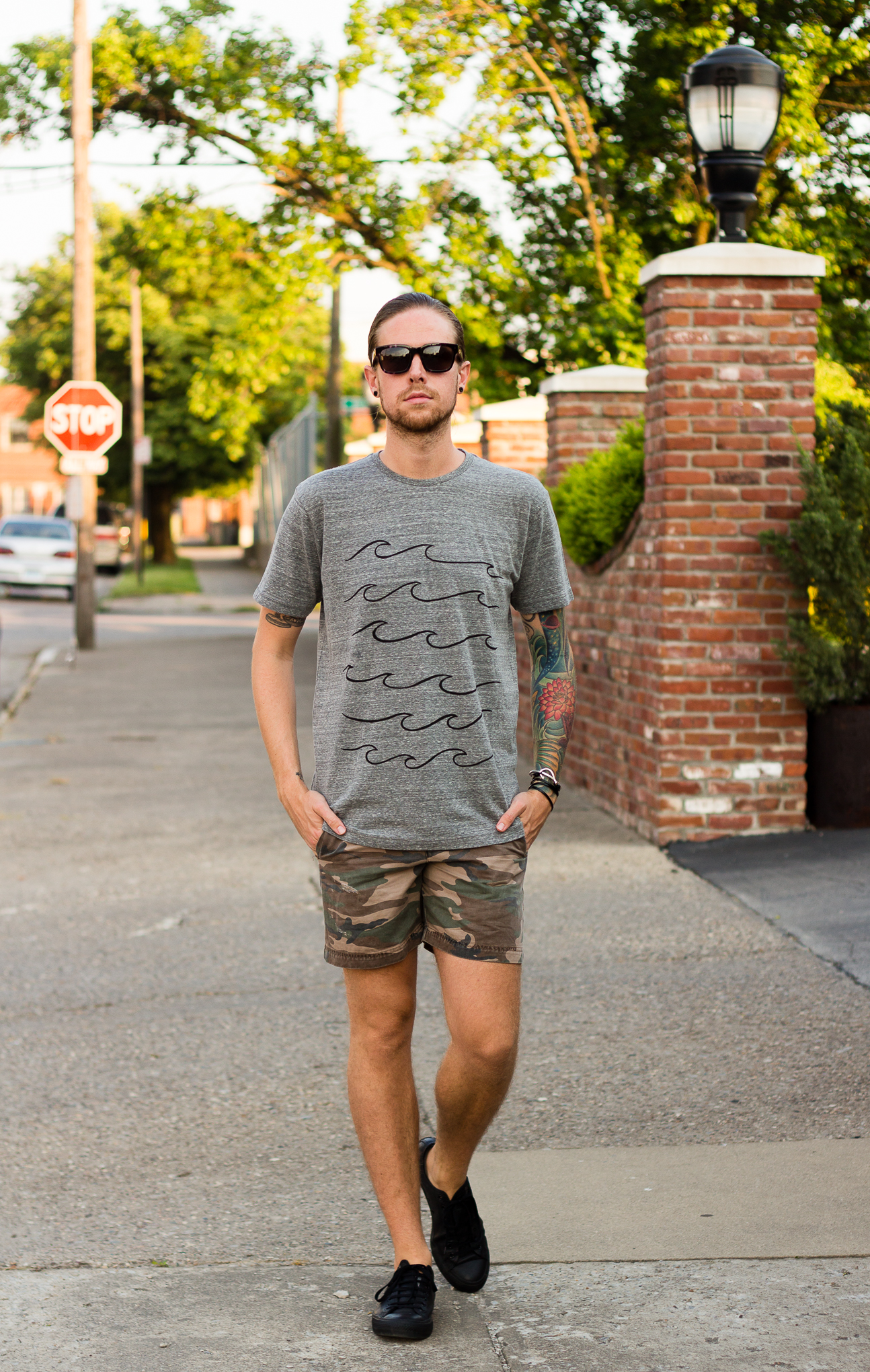 mollusk, grey tee, grey t-shirt, mens blogger, how to wear a grey t-shirt