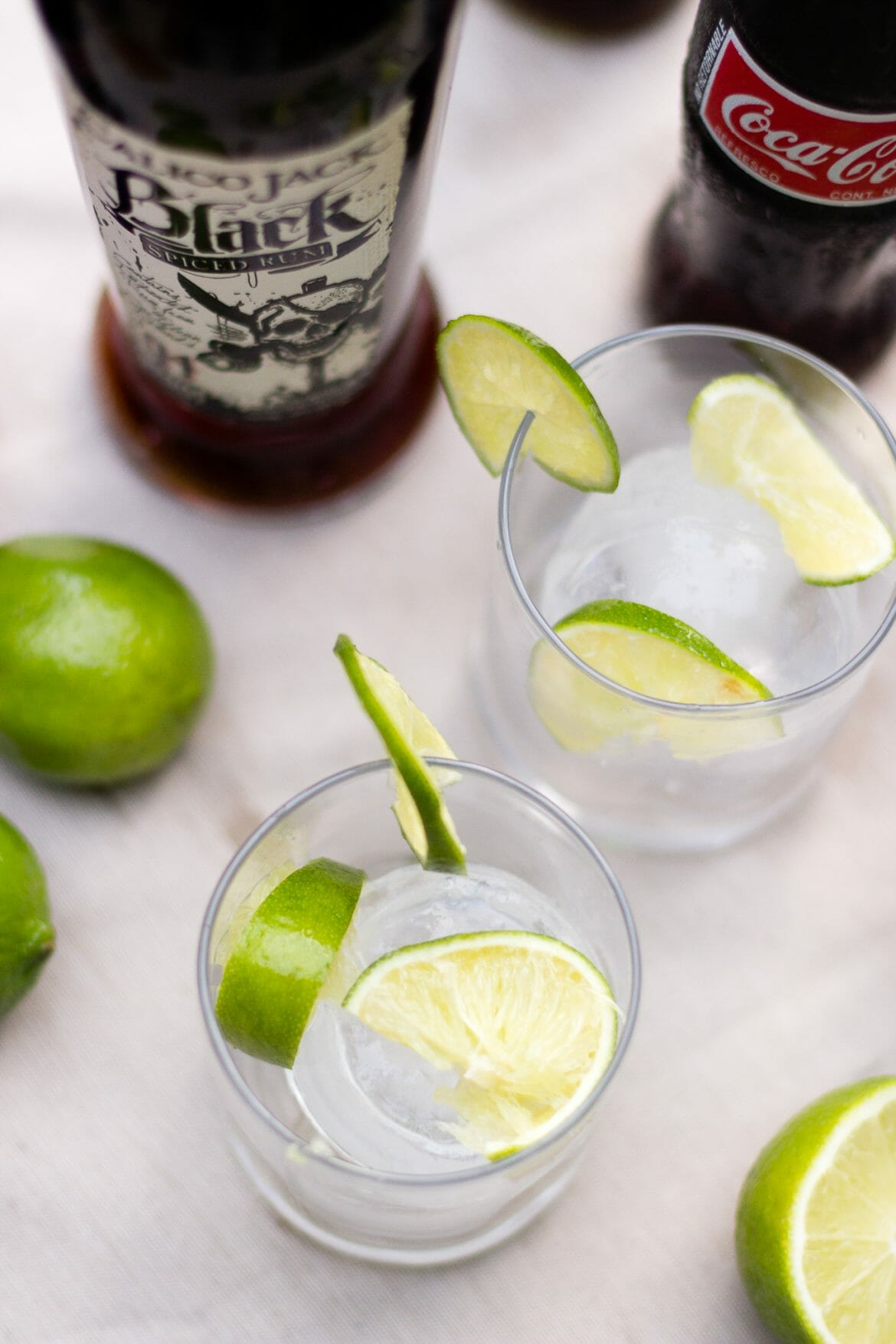 calico jack spiced rum, cuba libres, cocktail recipe, sponsored post, how to make a rum and coke