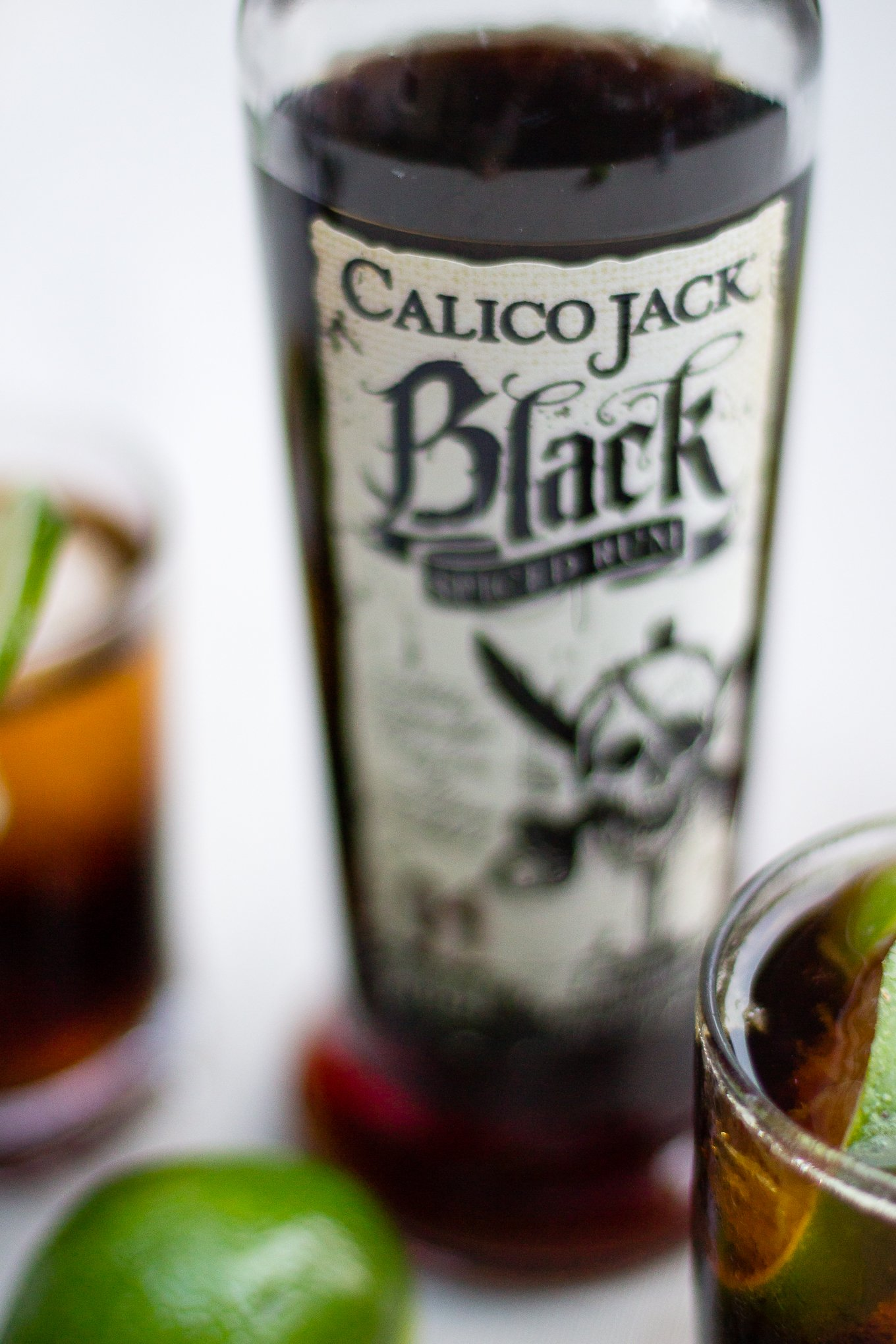 calico jack spiced rum, dirty coke, cocktail recipe, sponsored post, how to make a rum and coke