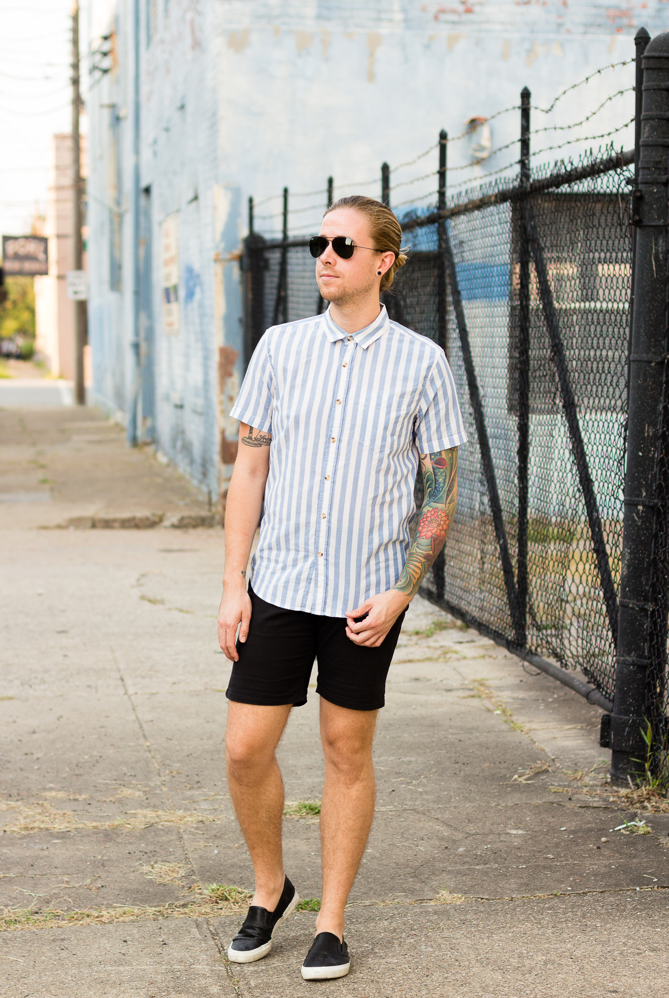 21men, obey clothing, obey, striped shirts, modern louisville