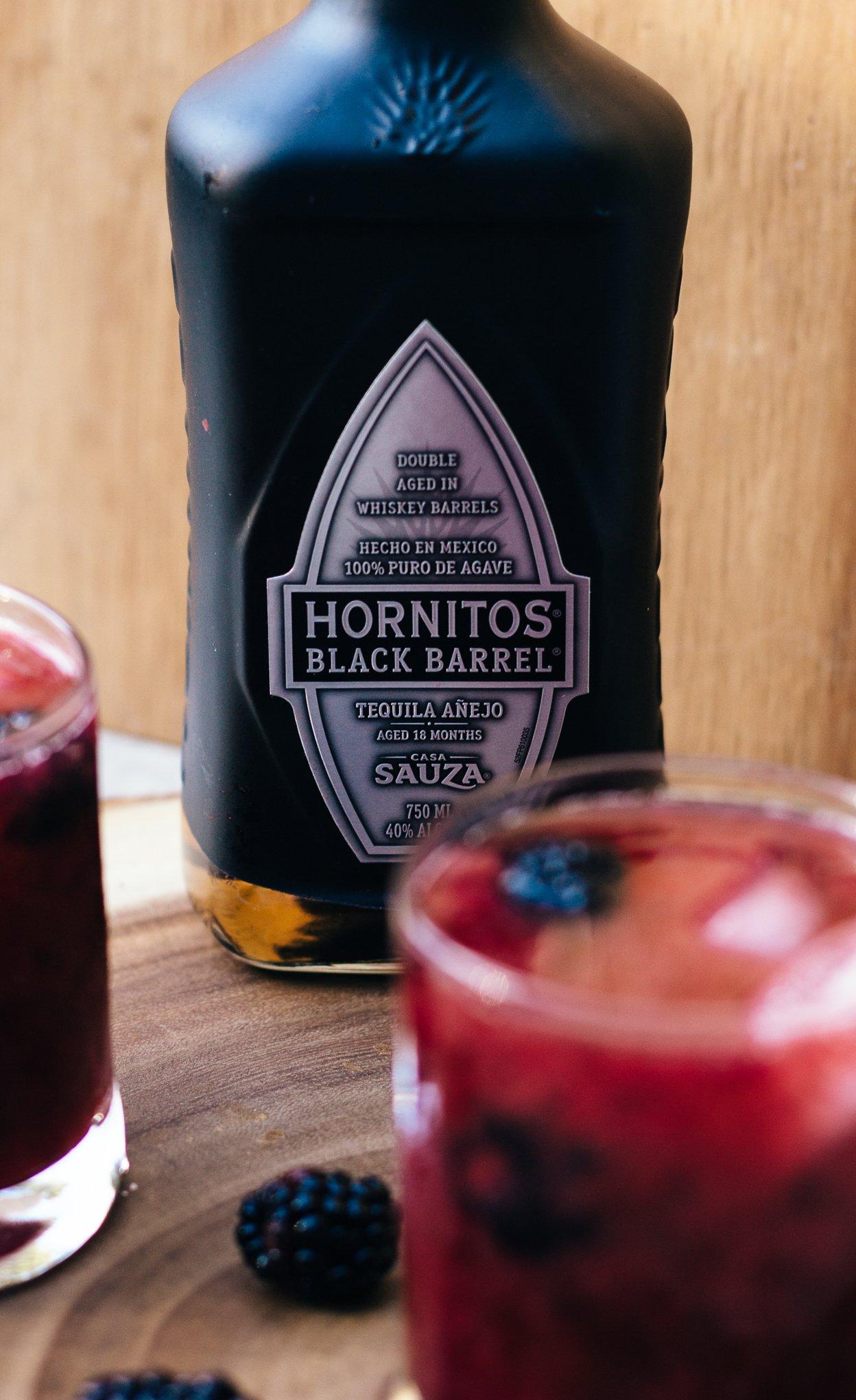 blackberry margaritas, margarita recipe, cocktail recipes, how to make a margarita, hornitos tequila