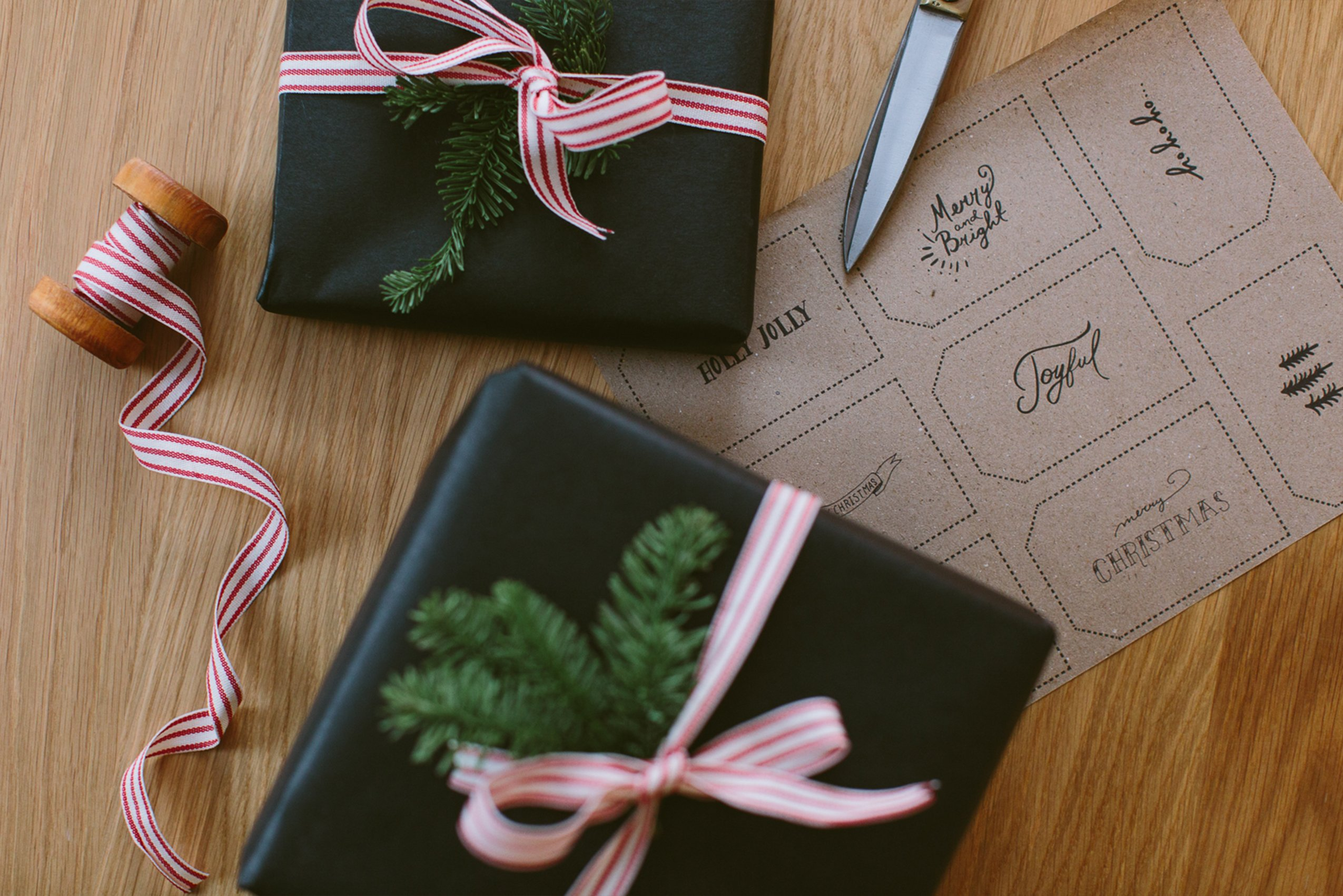 the fresh exchange, gift tags, christmas gift ideas, DIY projects, mens life and style blog