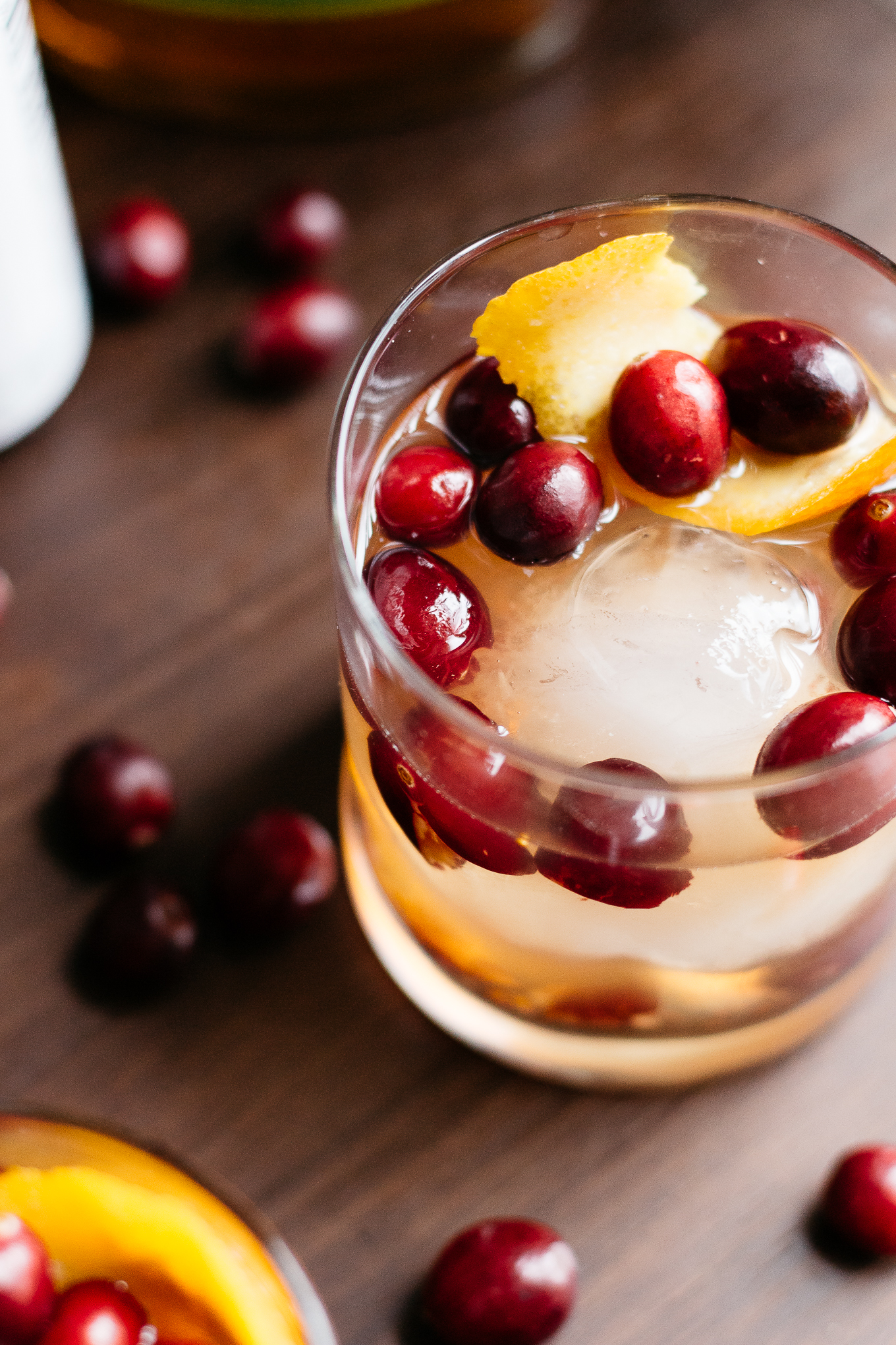 Cranberry Old Fashioned | The Kentucky Gent