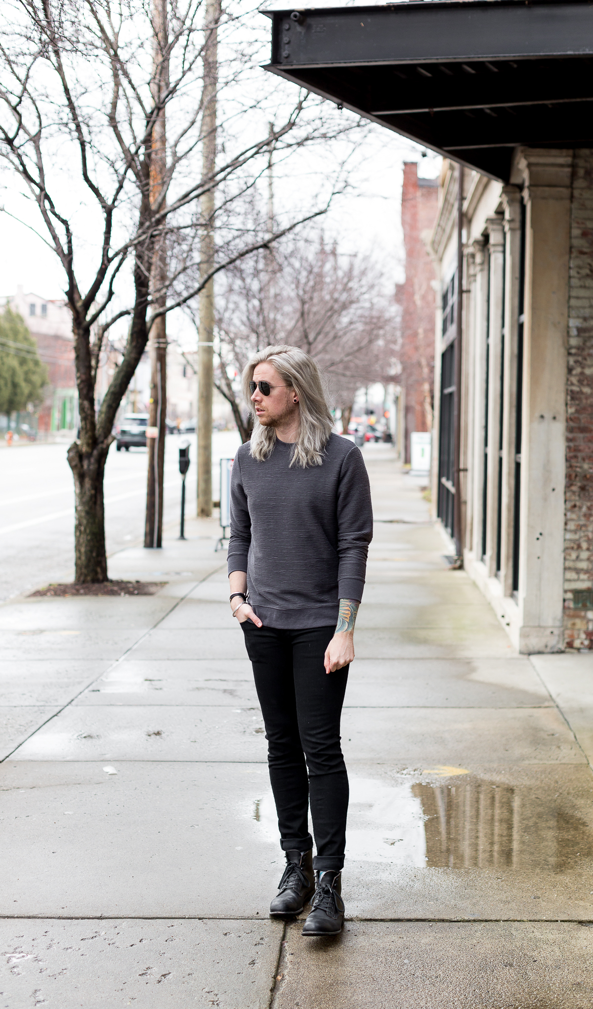 hm sweatshirt, mens affordable style, louisville blogger, kentucky blogger, mens blogger via @TheKentuckyGent