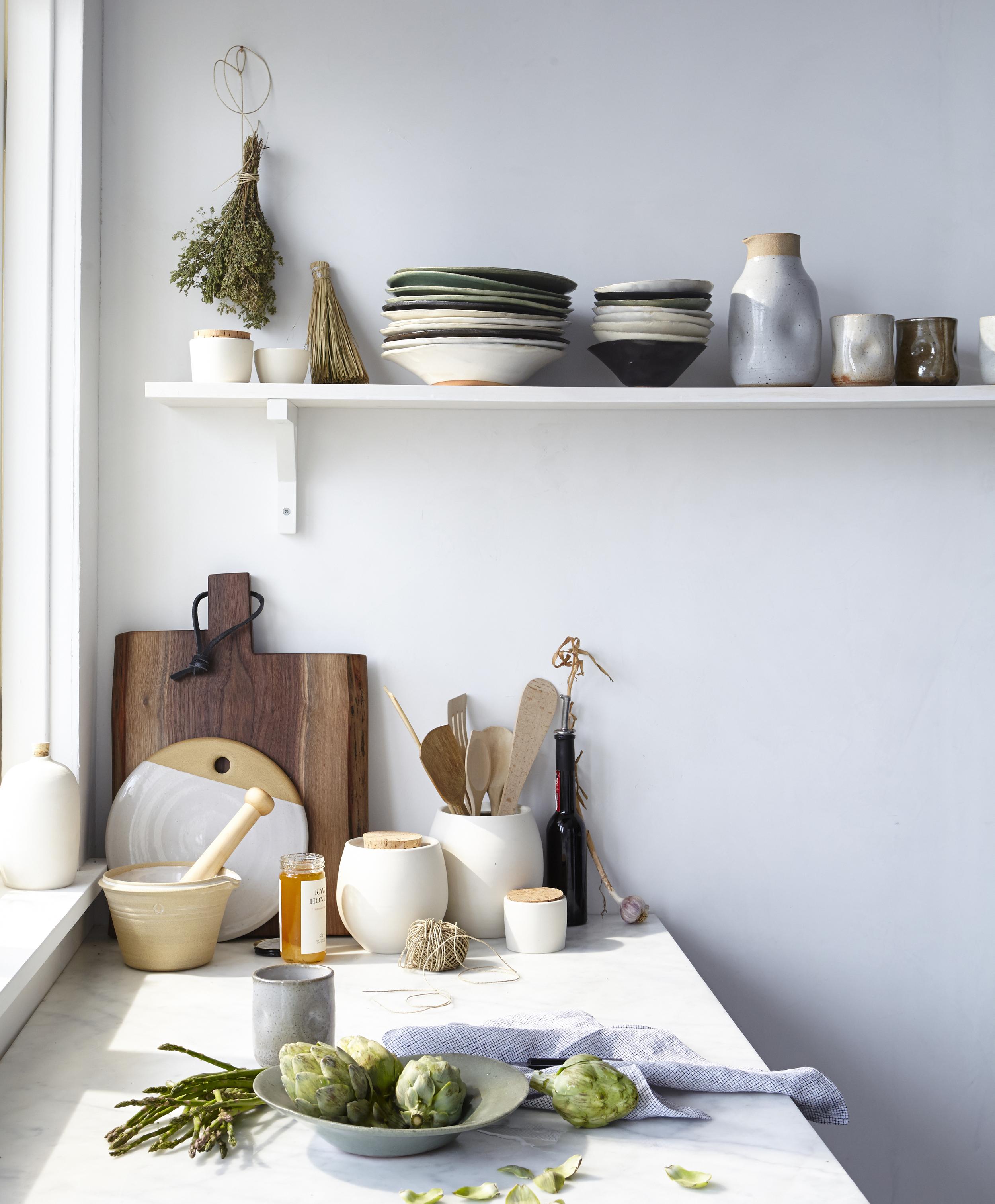 kitchen light, shelfie, the fresh exchange, link round up, kitchen light tips