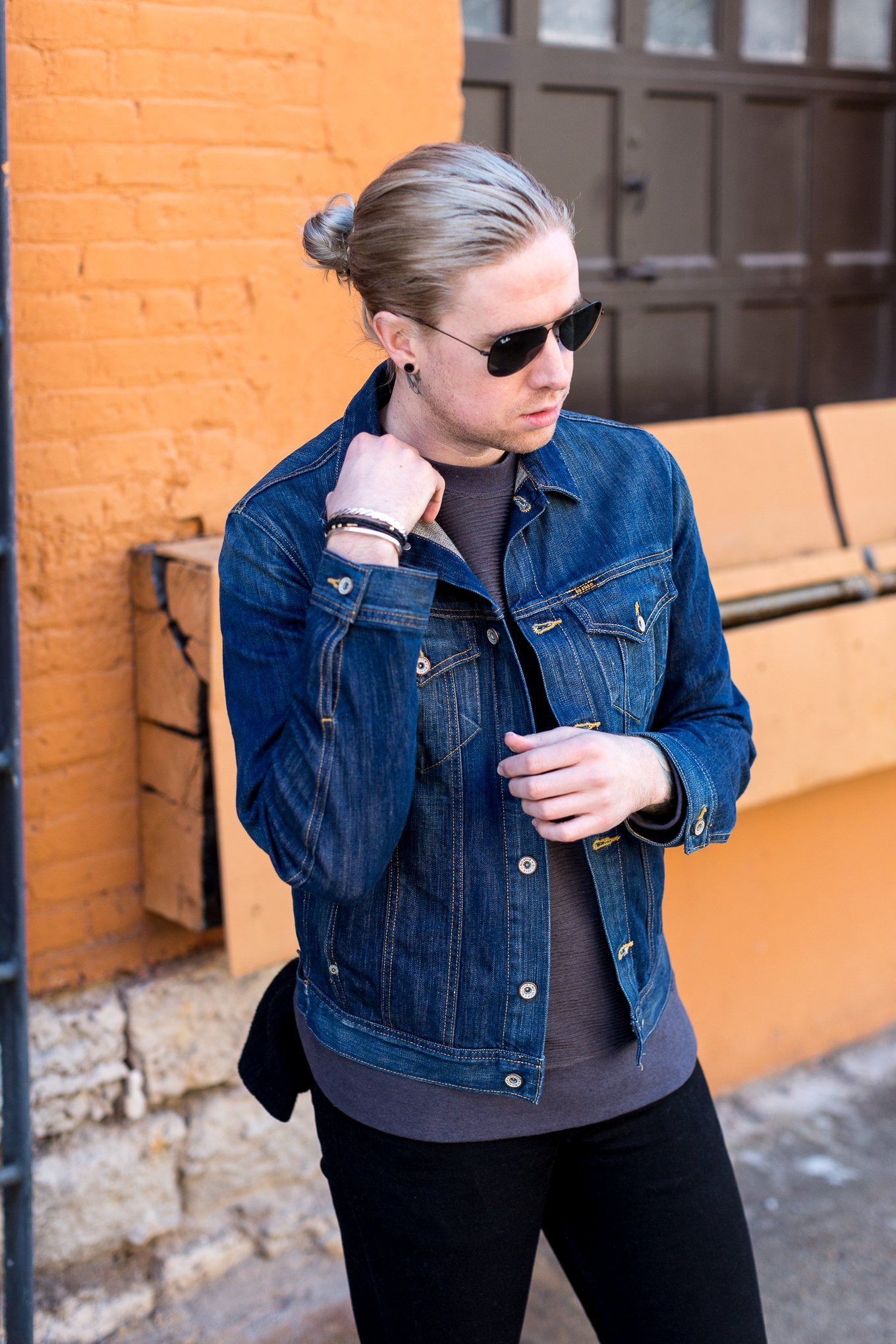 big star denim, mens fashion blogger, mens denim jacket, rag and bone jeans, kentucky fashion blogger