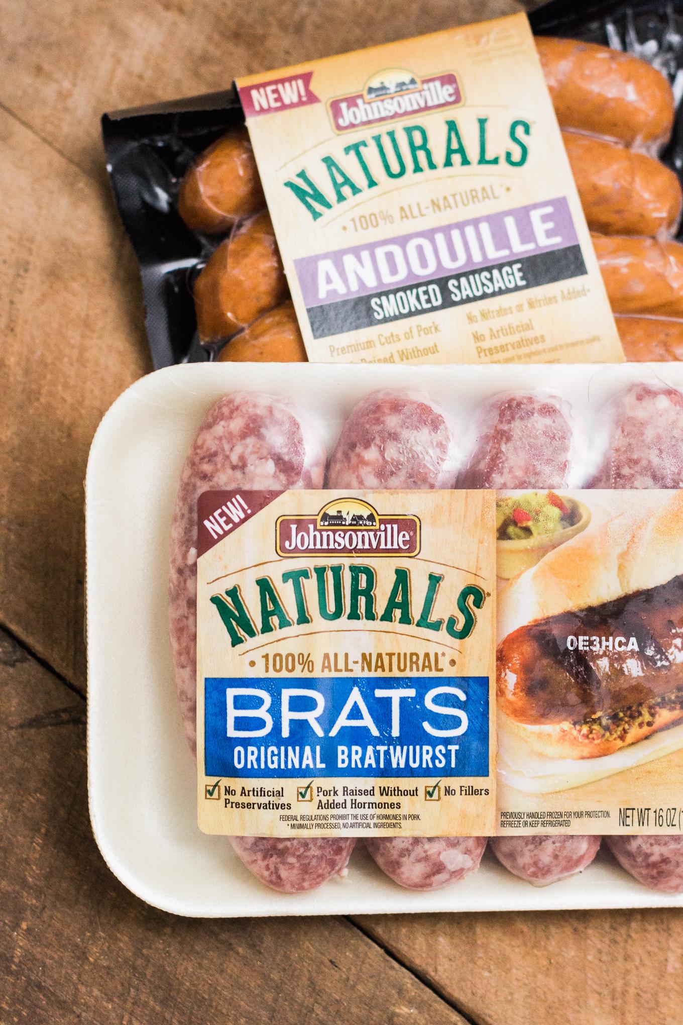 johnsonville brats, cucumber slaw, food blog, cooking blog, all natural brats