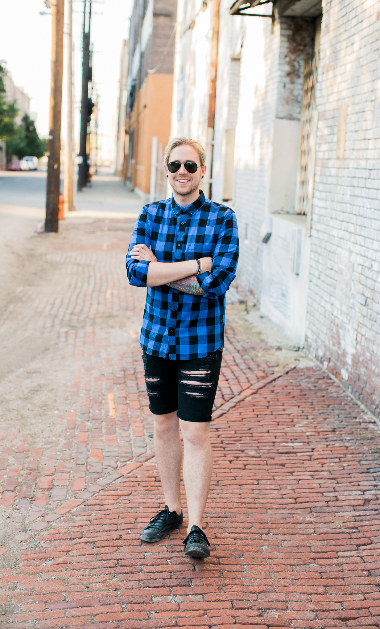 mens hm shorts, black denim shorts, mens denim shorts, mens style style, kentucky blog