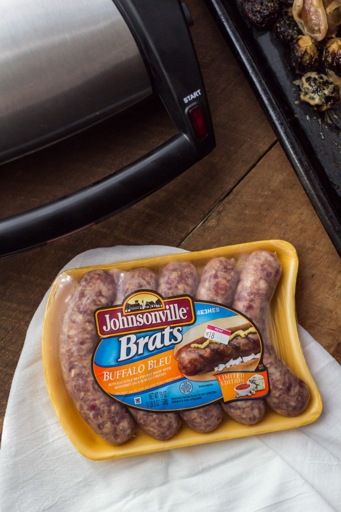 johnsonville, johnsonville bratwursts, brussels sprouts, how to cook brussels sprouts, mens food blog