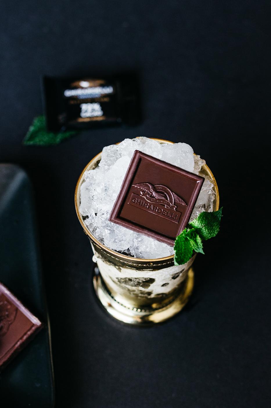 ghirardelli chocolate, bourbon chocolate, kentucky derby party, kentucky derby party cocktails, lifestyle blog