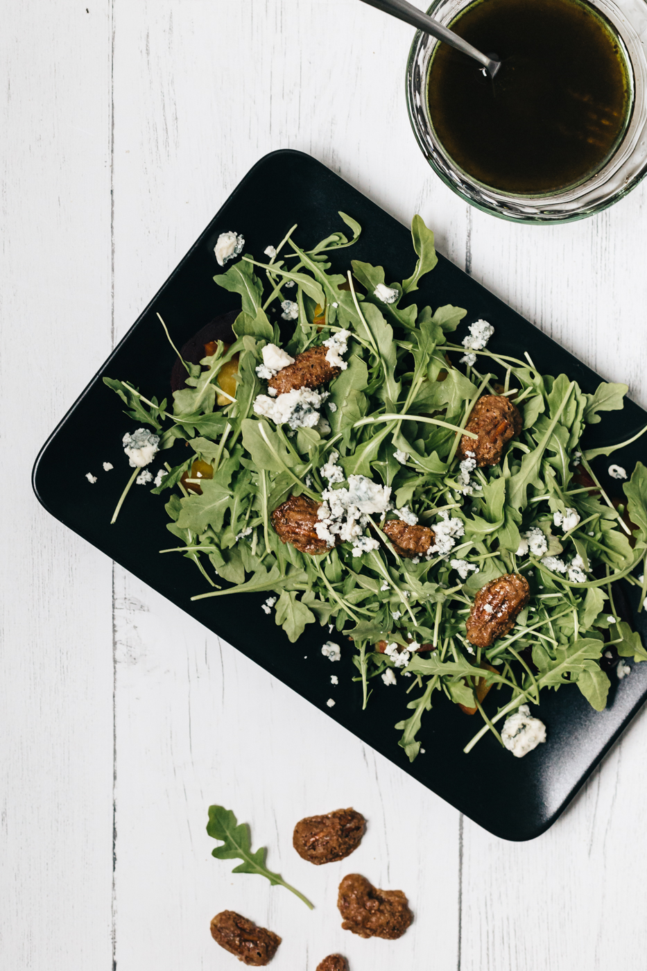 roasted beet and pear salad, summer salad recipes, kroger simple truth, the kentucky gent, southern cooking blog