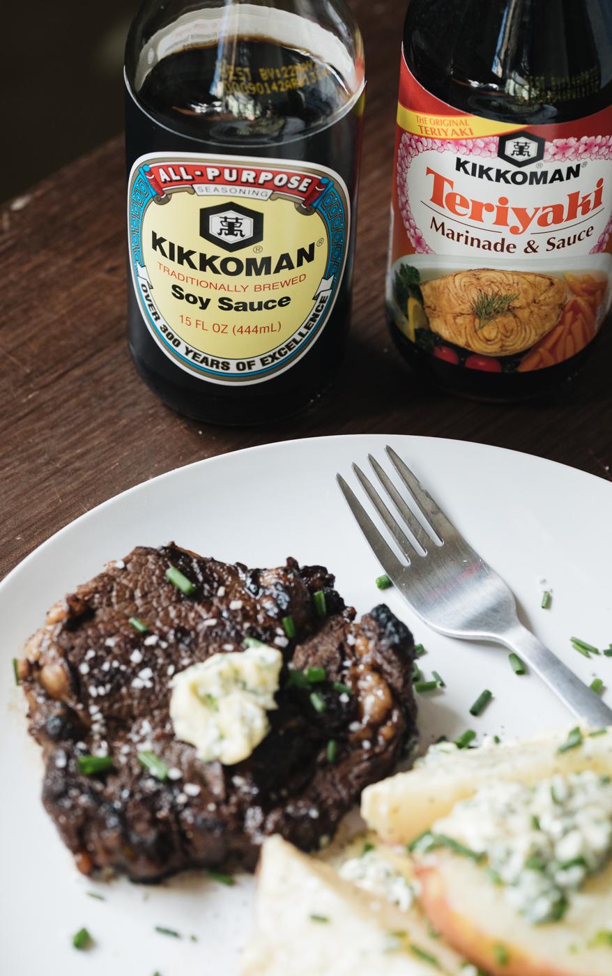 Garlic Soy Marinated Steak Recipe