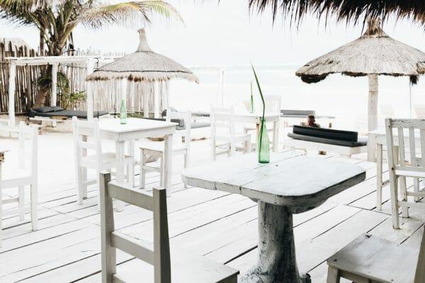 Playa Mambo Eco Cabanas in Tulum, Mexico