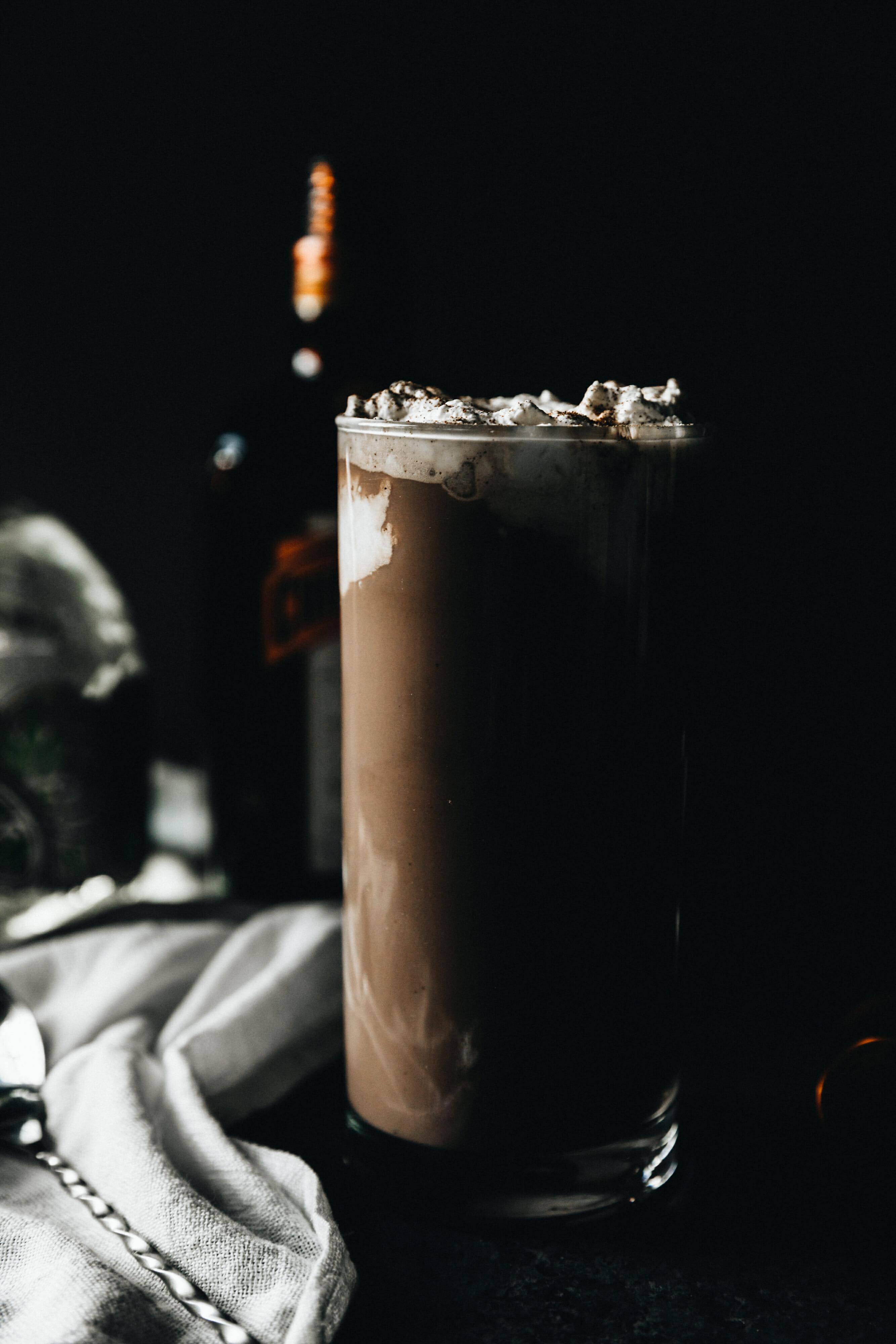 patron chocolate milk