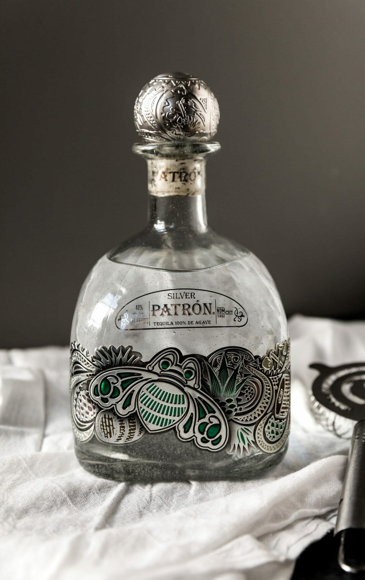 patron holiday bottle