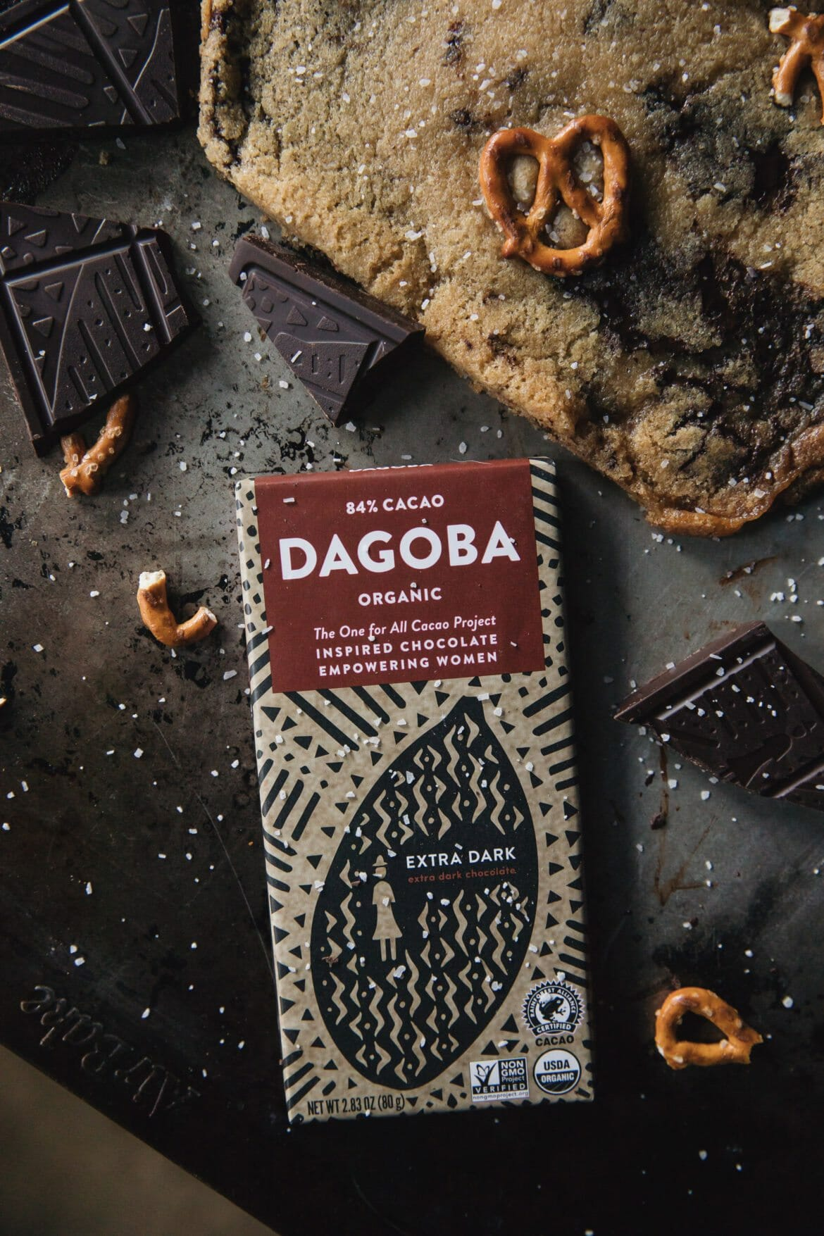 dagoba dark chocolate bar