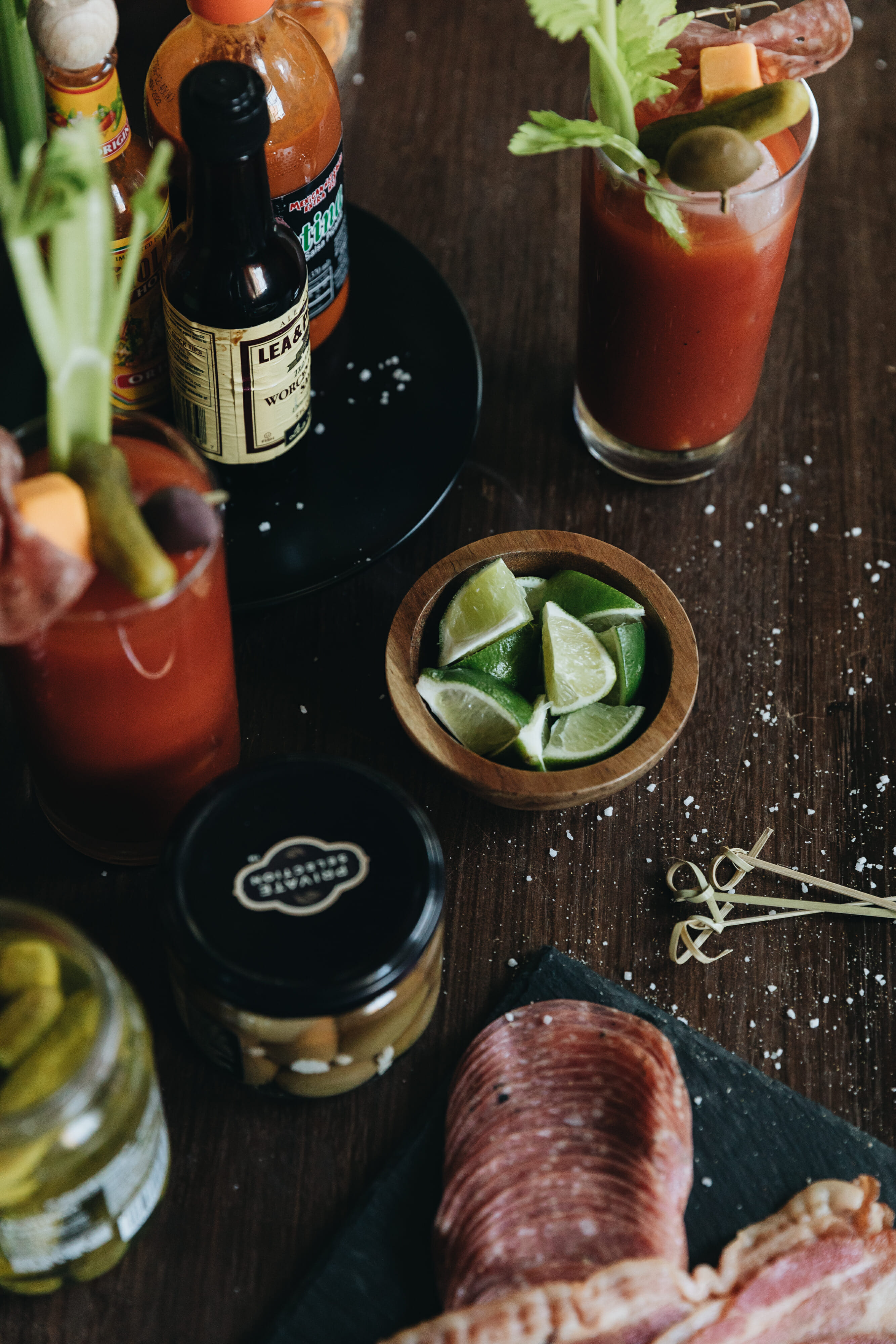 bloody mary toppings