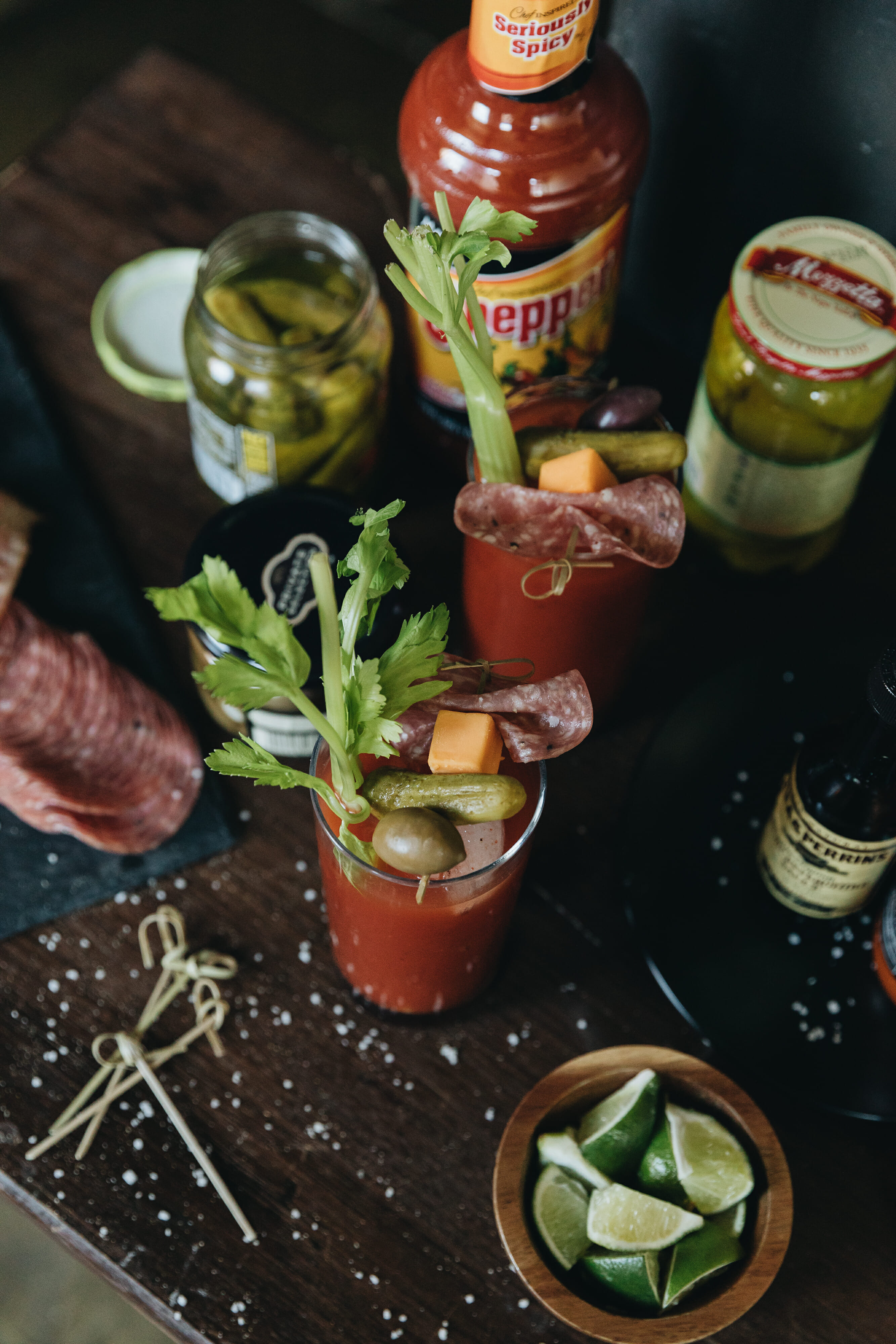 loaded bloody mary spread