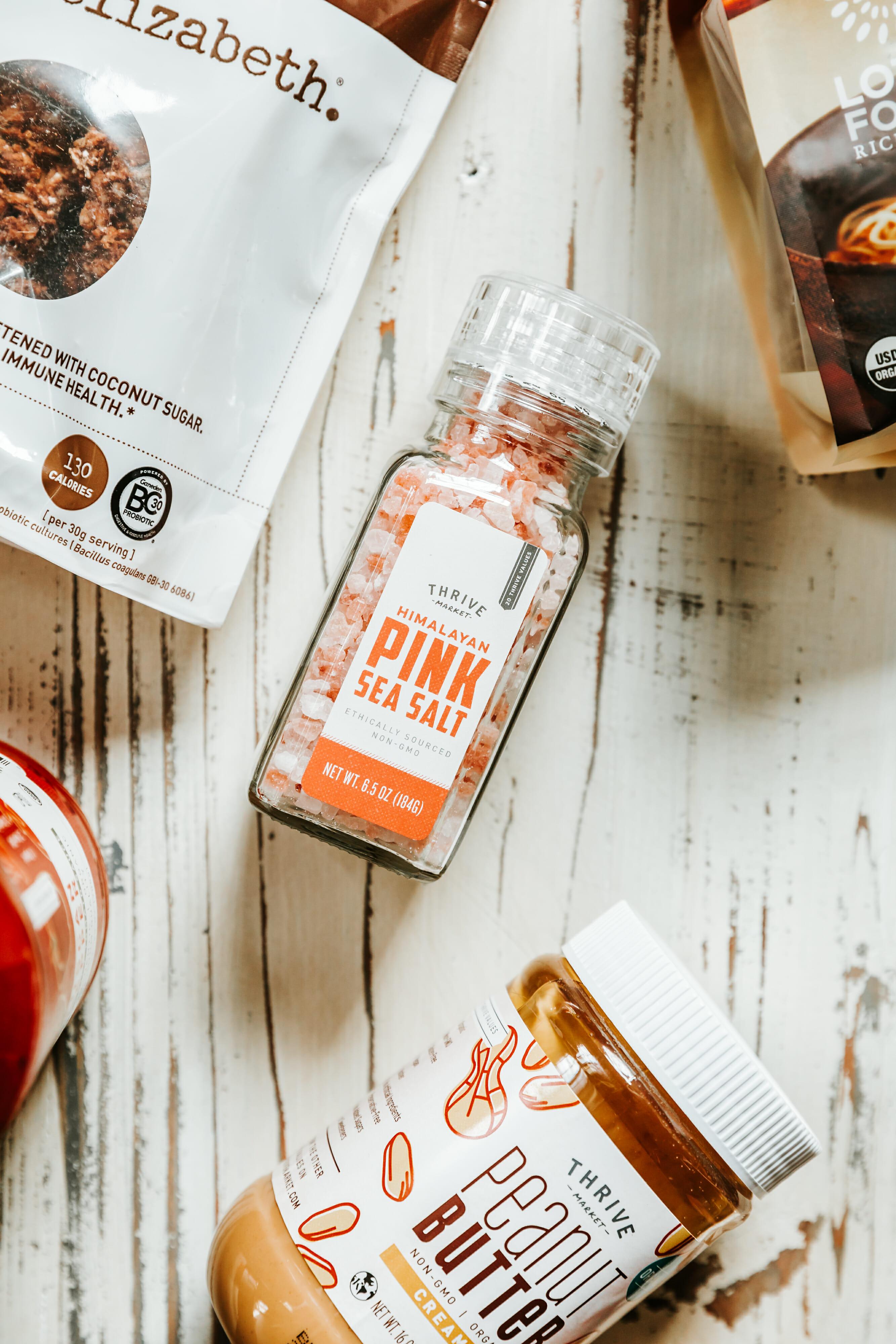 thrive market pink himalayan salt