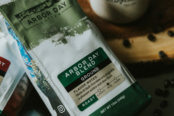 arbor day foundation coffee bag