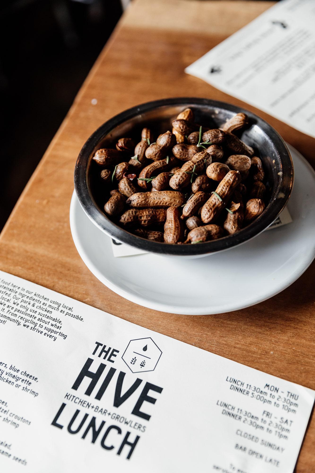 boiled peanuts at hive