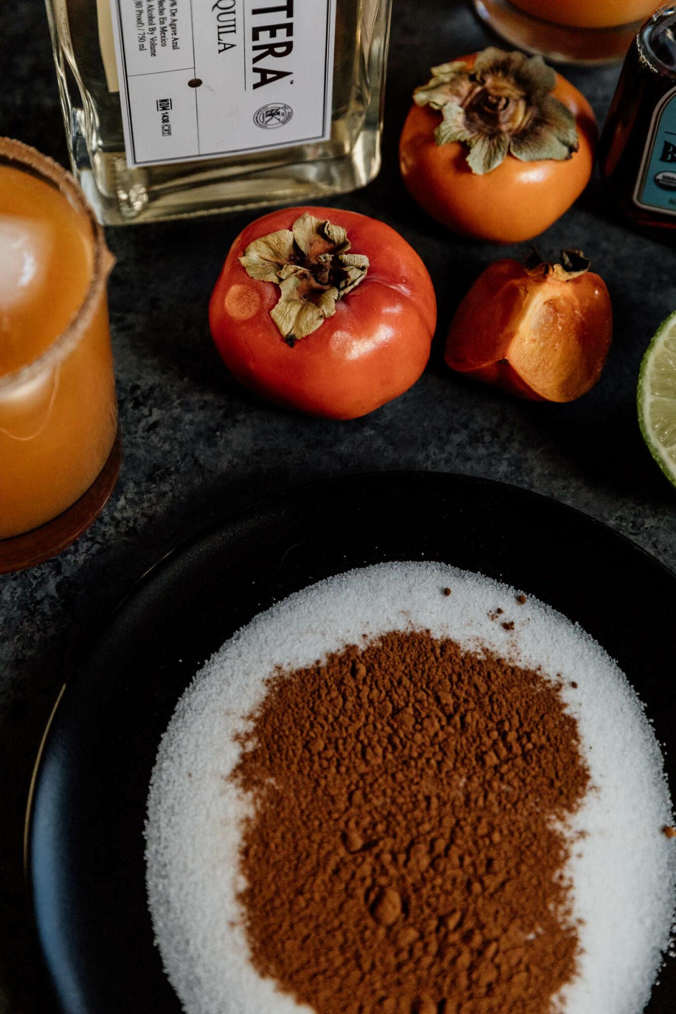 cinnamon sugar margarita rim