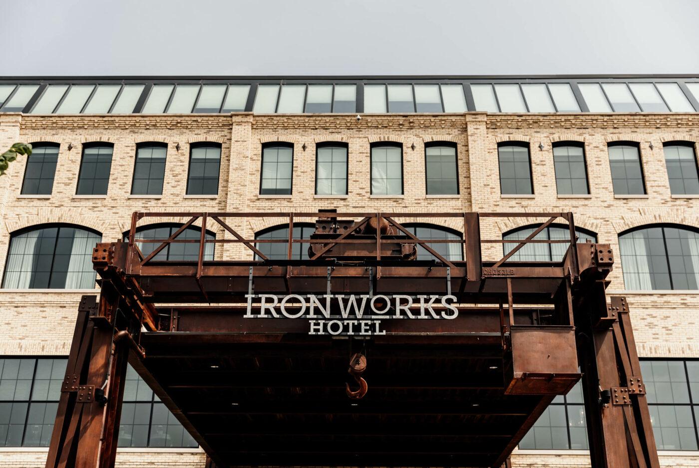 ironworks hotel Indianapolis main entrance