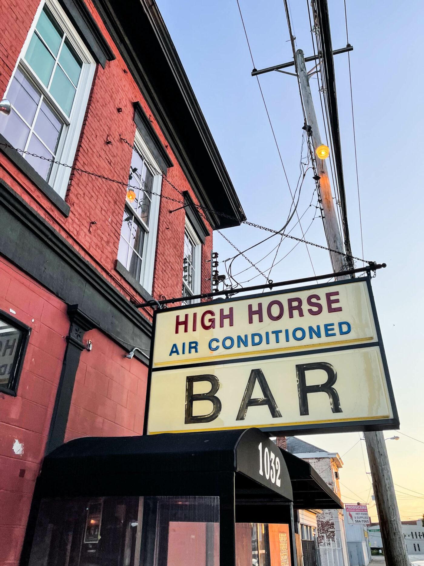 high horse bar louisville